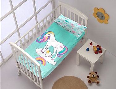 Denisa Home - Saco nórdico cuna Belive in Unicorns