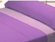 Juego de cama de invierno Coralina liso