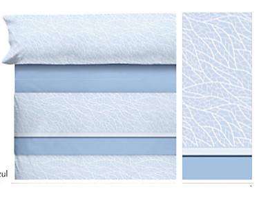 Cañete - Juego de cama de invierno Franela 100% algodón Milan