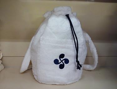Nuestros Productos - Mochila de rizo Lauburu