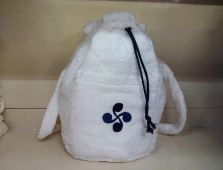 Nuestros Productos Mochila de rizo Lauburu