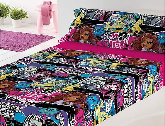 Euromoda - Juego de cama Monster High Thriller