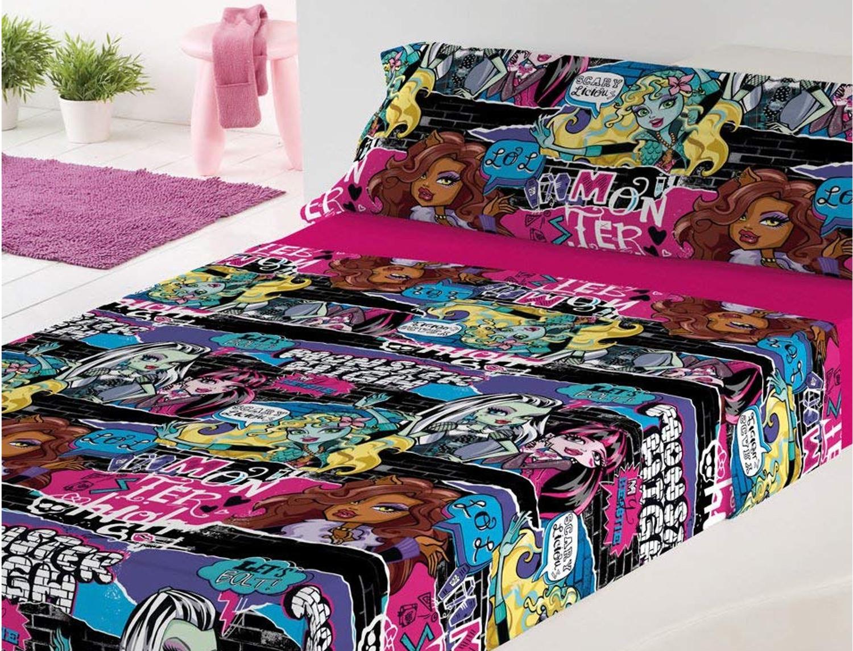 Euromoda Juego de cama Monster High Thriller