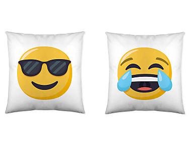 Euromoda - Cojín reversible Emoji 1
