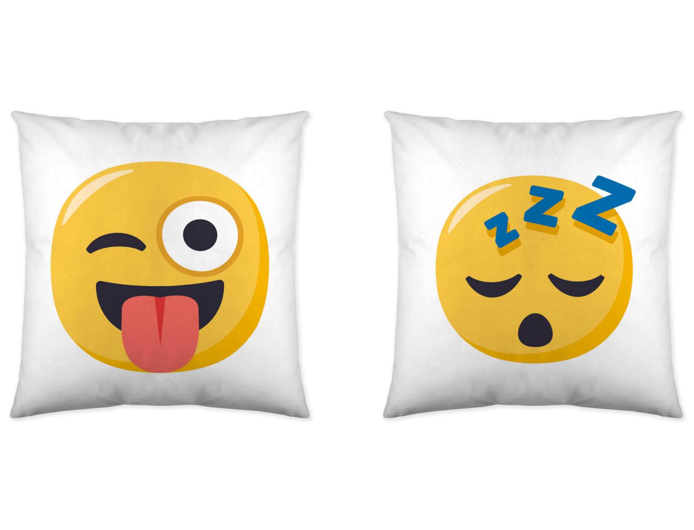 Euromoda Cojín reversible Emoji 5