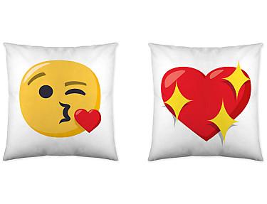 Euromoda - Cojín reversible Emoji 7