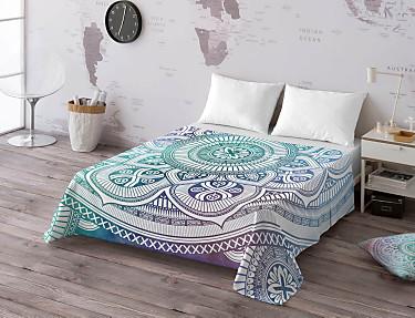 Euromoda - Juego de cama 100% algodón Boho