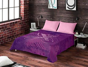 Euromoda - Juego de cama 100% algodón Dirty