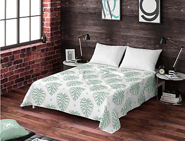 Euromoda - Juego de cama 100% algodón Kenay