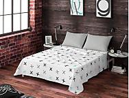 Juego de cama 100% algodón Soft Indie
