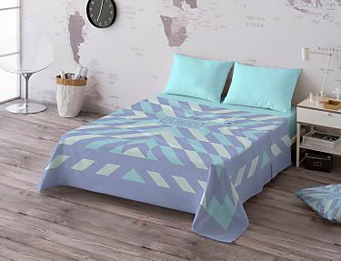 Euromoda - Juego de cama 100% algodón Navajo
