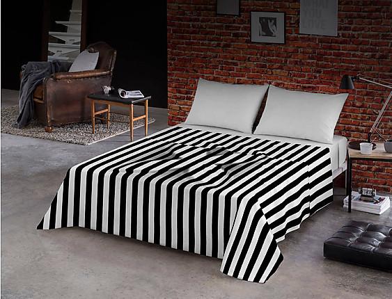 Euromoda - Juego de cama 100% algodón Relieve