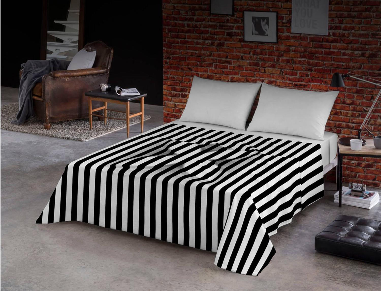 Euromoda Juego de cama 100% algodón Relieve