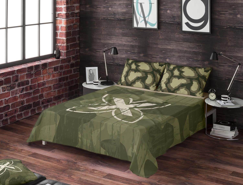 Euromoda Juego de cama 100% algodón Ares