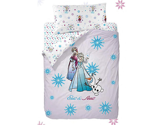 Nuestros Productos - Funda nórdica reversible Frozen Strong Heart