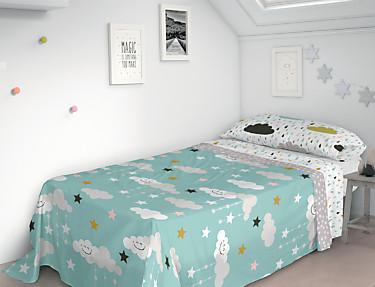 Euromoda Iceberg - Juego de cama 100% Algodón Dreams