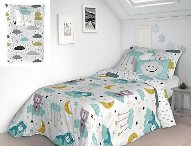 Euromoda Iceberg - Funda nórdica reversible 100% algodón Dreams