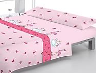 Juego de cama Pink