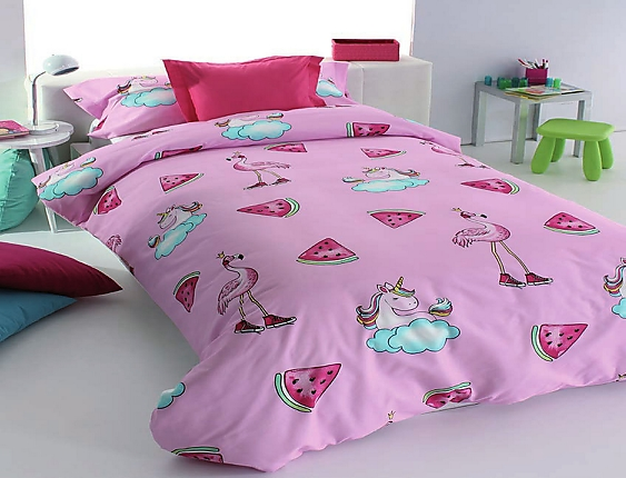 Reig Marti - Funda nórdica Unicornios Pink