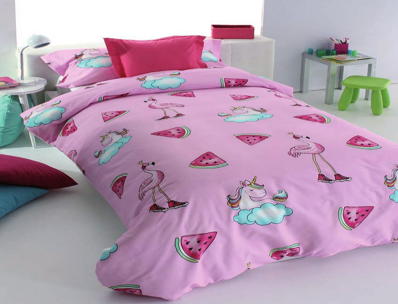Reig Marti Funda nórdica Unicornios Pink