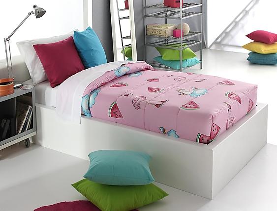 Reig Marti - Edredón ajustable Unicornios Pink