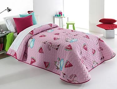 Reig Marti - Edredón de acolchado fino Pink