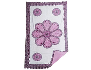 Textil Tarragó - Toalla Pareo Kikoy Mandala Flor PRK22