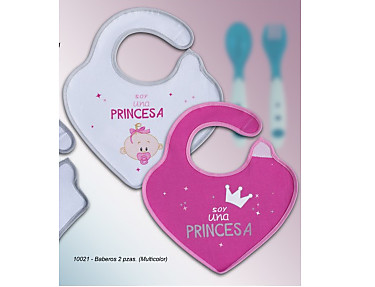 Gamberritos - Baberos impermeables 10021 Soy una Princesa