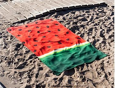 Euromoda Iceberg - Toalla de playa Watermelon