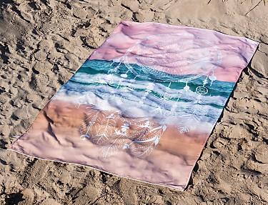 Euromoda Iceberg - Toalla de playa Dreamcatcher Sweet