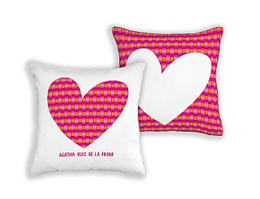 Barbadella Home - Funda de cojín reversible Agatha DIG 064