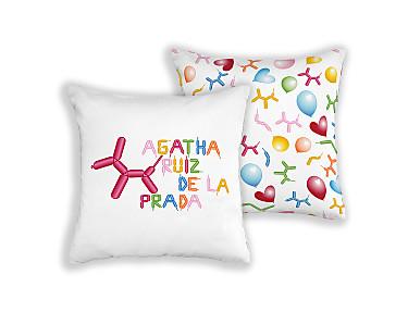 Barbadella Home - Funda de cojín reversible Agatha DIG 066