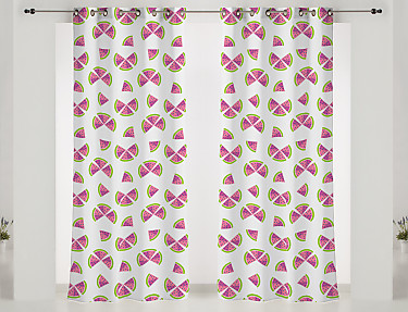 Barbadella Home - Cortina con ollaos Agatha Fashion JAC 011