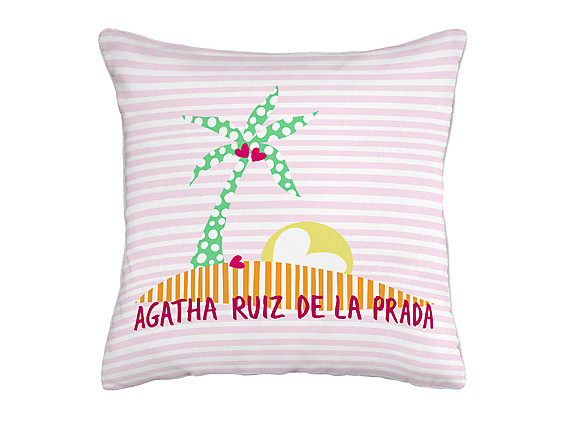 Barbadella Home - Funda de cojín outdoor Agatha Happy DIG 003