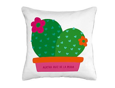 Barbadella Home - Funda de cojín outdoor Agatha Happy DIG 005