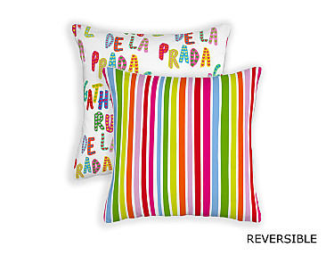 Barbadella Home - Funda de cojín reversible Agatha Love DIG 031