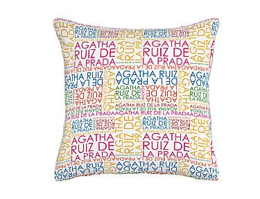 Barbadella Home - Funda de cojín Agatha Love DIG 032