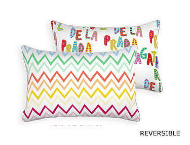Barbadella Home - Funda de cojín reversible Agatha Love DIG 045
