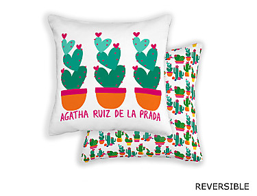 Barbadella Home - Funda de cojín revestible Agatha Love DIG 041