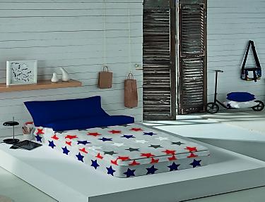 Euromoda - Saco nórdico 100% Algodón American Stars