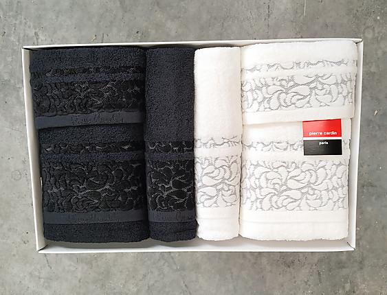 Nuestros Productos - Juego de toallas Pierre Cardin Valentini PC 720
