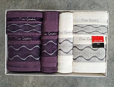 Nuestros Productos - Juego de toallas Pierre Cardin Valentini PC 750