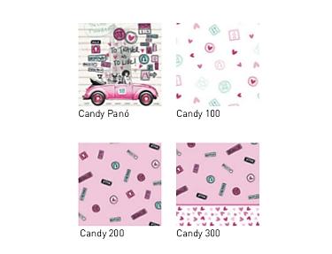 JVR - Tejidos coordinados Candy