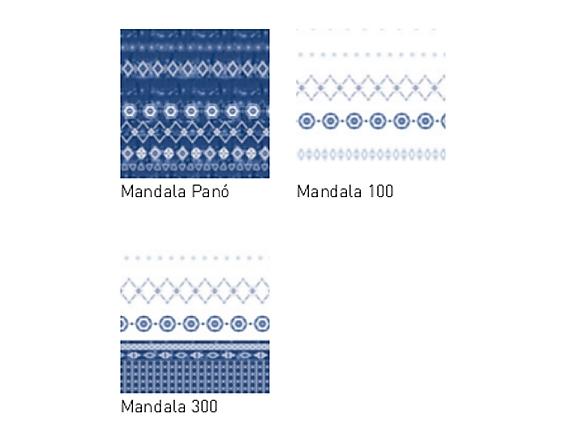 JVR - Tejidos coordinados Mandala