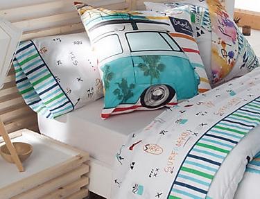 JVR - Juego de cama 100% algodón Beach