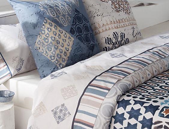 JVR - Juego de cama 100% algodón Exotic