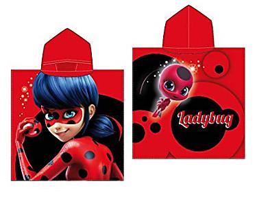Textil Tarragó - Poncho Playa Ladybug