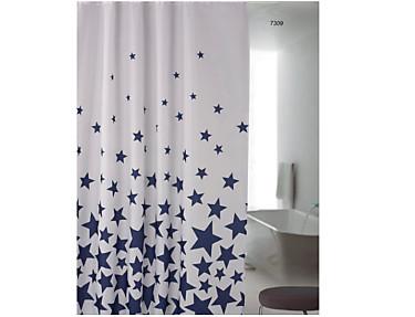 Nuestros Productos - Cortina de baño Estrellas 7309