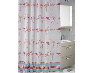 Nuestros Productos - Cortina de baño Flamencos 7307