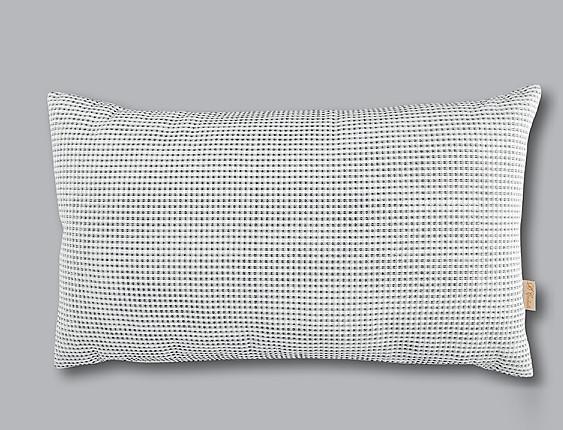 Cañete - Cojín con relleno Luxury 91 Gris